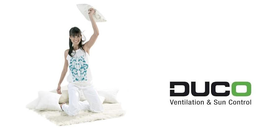"Duco ""VIP"" installateur ventilatie en sun control"